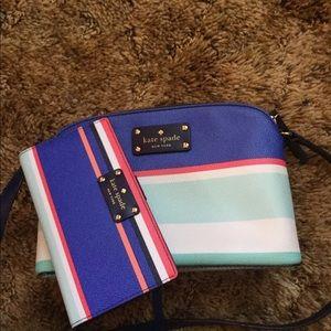 Kate Spade Mini Bag & Matching Wallet